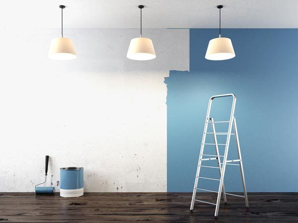 Process for interior painting